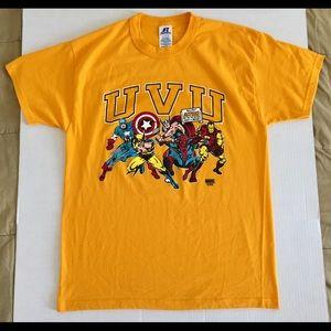 RUSSELL Utah Valley UVU Wolverines Marvel T-Shirt